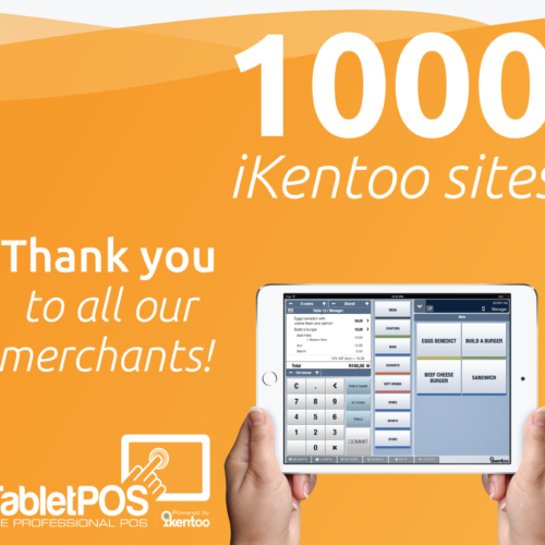 iKentoo's South African Reseller TabletPOS Signs 1000th Client!