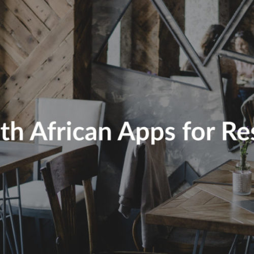 Best South African Apps For Restaurants
