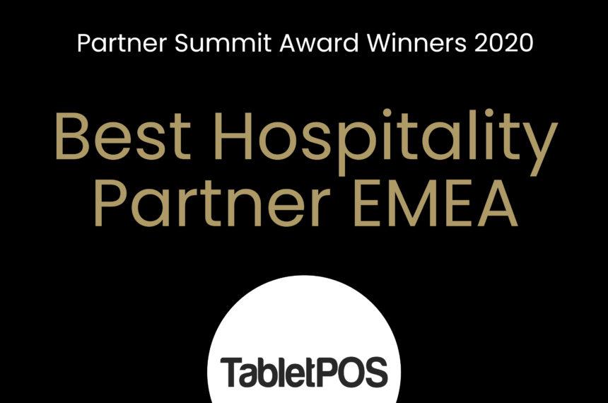 Best Hospitality Partner EMEA 2020: TabletPOS