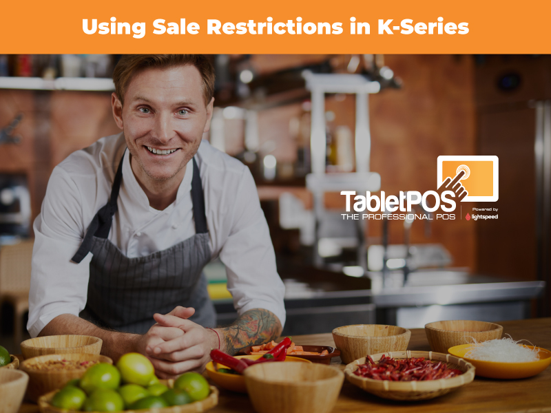 Lightspeed K-Series: Sales Restrictions