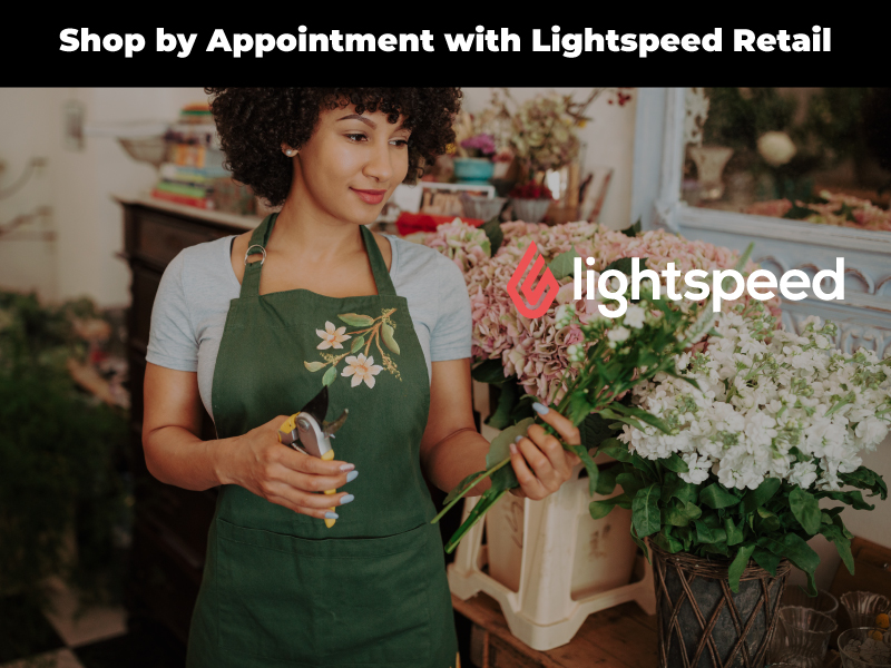 Shop by Appointment with Lightspeed Retail