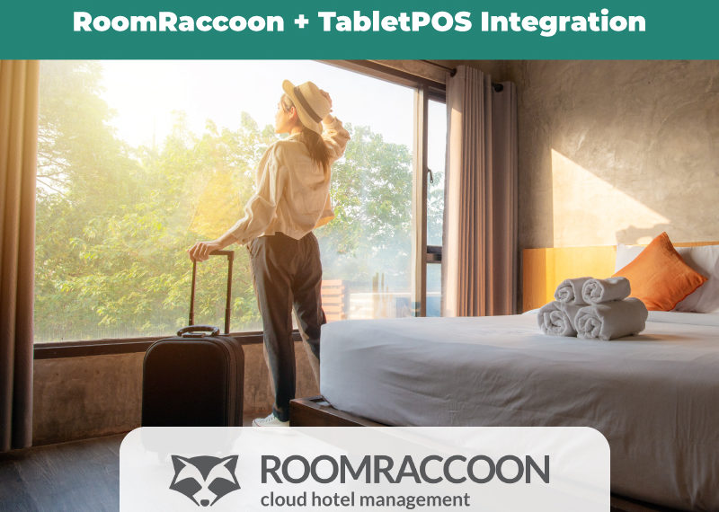 Announcing a new integration: RoomRaccoon and TabletPOS